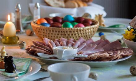 Mięsne produkty regionalne itradycyjne naWielkanoc