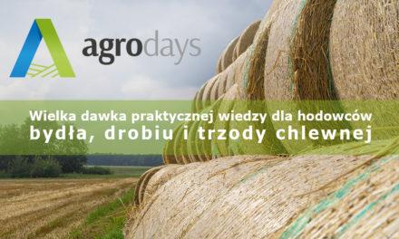 Będzie II edycja Agro Days. Dni Hodowcy